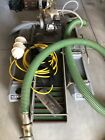 Keene 4 Gold Dredge with Honda Motor pump compressor and accessories
