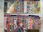Huge Lot Of 50 Assorted Sticko Scrapbooking Stickers No Duplicates