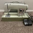 VTG Sears Kenmore Sewing Machine MODEL 2142 w Carrying Case Tested  Works