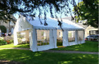 MARQUEE 3mx8m HEAVY DUTY COMMERCIAL 650g PVC TENTS PARTY CANOPY SHELTER  WEDDING