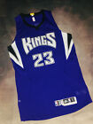 100% Authentic Adidas Kings Ben McLemore III Game Worn Jersey SZ Large Autograph
