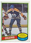 1980-81 O-Pee-Chee OPC Mark Messier RC Rookie Card