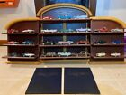 24 Car Set FRANKLIN MINT CLASSIC CARS OF THE 50s WITH SHELVESBOXESBOOKSCOA