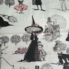 Alexander Henry The Ghastlies Cotton Fabric 1 yard Witches 2009