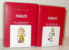 2021 Hallmark Ornaments Charlie Brown All Tangled Up Snoopy All Decked Out