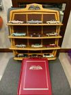 12 Car Set Franklin Mint Classic Cars of the Sixties w Display Boxes Book COA