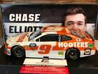 Autographed 2019 Action Chase Elliott 9 Hooters Camaro 1 24 1 of 408