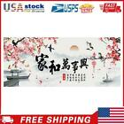Chinese Characters 14CT Stamped Cross Stitch DIY Cotton Embroidery Crafts