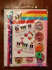 New Sealed Vintage Lisa Frank Paper Pack it Piano Music Notes