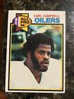 1979 Topps Earl Campbell Houston Oilers #390 ROOKIE Football Card