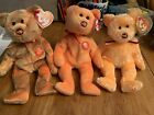 Lot Of 3 Ty Beanie Babies M.C. II 2nd Edition 3rd Anniversary Edition Mastercard