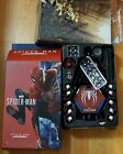 1 6 Spider-Man Accessories and Art Box from Hot Toys VGM31 Advanced Suit Figure
