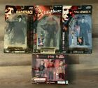 HORROR FILMS FIGURES FROM CLASSIC HORROR MOVIES SEALED BOX JASON FREDDY MICHAEL