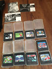 Bundle Of Nine Sega Game Gear Games, Comes With Carry Case.