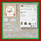 Stampin Up HEARTS COME HOME Stamps  HOMETOWN GREETINGS Dies