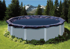 24 Round Pool 27 Round Cover PCO827 Blue Above Ground Swimming Pool Winter