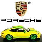 SPARK 1 18 2017 Porsche 911 R Model Car 991 Yellow Green There Is No Substitute