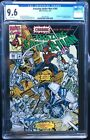 Amazing Spider-man #360 CGC 9.6 white pages 1st Appearance of CARNAGE in cameo
