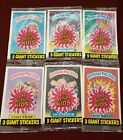 Garbage Pail Kids Giant Stickers Pack Lot X6 Sealed