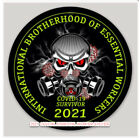 50 pack 2021 Essential Worker Round Oval Sticker Decal Essential Workers