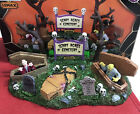 Lemax Spooky Town Halloween Village Accessory- SCARY ACRES CEMETERY  - In Box