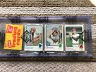 1973 TOPPS RACK PACK TWO HALL OF FAME PLAYER ON TOP  BACK OF PACK AUTH BBCE