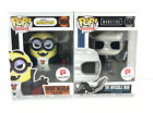 Funko Pop Monsters The Invisible Man Minions Dave'acula Walgreens Exclusives
