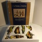 Rare 7 Piece Nativity Set Robert Stanley The Promise Of Christmas 2017