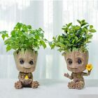Home Decoration Accessories Flower Pot Pen Holder Cute Tree Toy Flower Home