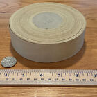 Roll of 15in Pale Yellow Grosgrain Ribbon c 1940s approx 20 30 yds