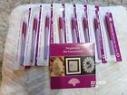 Lot of 8 New Pergamano Embossing Mapping  Perforating tool  CD