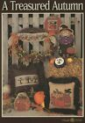 HTF Mill Hill A Treasured Autumn Pattern Booklet with Materials for Witch