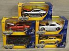 Lot of 5 2006 Chevy Camaro Concept 124 Jada BigTime Muscle Cars