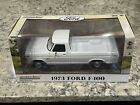 Greenlight 1973 Ford F 100 White Pickup Truck 1 18 In Stock