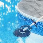 Automatic Suction Side Climb Wall Swimming Pool Vacuum Cleaner with 10 Hoses US