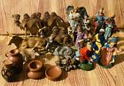 19 Vintage Mixed FONTANINI DEPOSE ITALY Christmas Nativity Figures 4 Scale Read