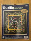 Bucilla Floral Splendor Counted Cross Stitch With Ribbon Embroidery Kit 41889