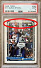 Missing Ink Error 1992 Topps Shaq Shaquille O'Neal RC Rookie Card #362 PSA 9
