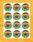 VINTAGE 1980s TREND GREAT GOING Scratch Sniff Stickers FULL Sheet Smelly