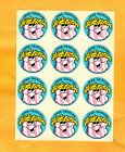 Rare VINTAGE 1980s SPUD TACULAR Scratch Sniff Stickers FULL Sheet French Fry