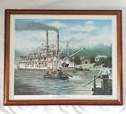 Brad Thompson 1983 Limited Edition Print Cotton Blossom Framed Signed 279 975