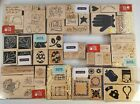 Lot CTMH Close to My Heart Wood Mount Rubber 19 Sets of Stamps Retired Mixed