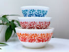 RARE FIND AGEE PYREX Paisley Nesting Bowl Set complete