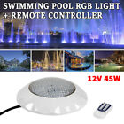 45W RGB Underwater LED Glow Light Show Swimming Floating for Pool Pond Hot Tub