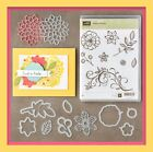 Stampin Up FALLING FLOWERS Stamp Set  MAY FLOWERS Framelits GREAT dies 3