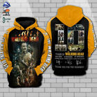 NEW The Walking Dead 10th Years Thank You For The Memories 3D Hoodie
