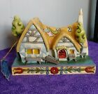 Enesco Disney Traditions Snow Whites Enchanted Cottage by Jim Shore 4031495