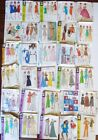 Vintage Sewing Pattern Collection Simplicity Butterick 50s 60s 70s Estate Lot A