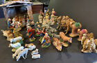 lot vintage nativity pieces Germany and Italy