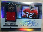 2021 Panini Legacy Ricky Watters patch autograph serial no 45 100 49ers